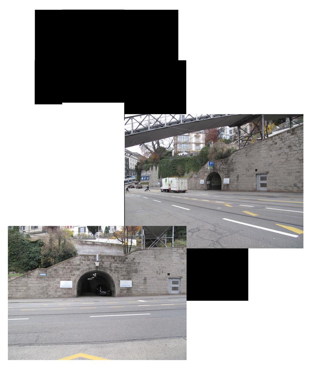 Parkmöglichkeit Parkgarage am Central Moto Taiana